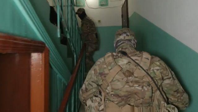 Симферополец задержан по обвинению в оправдании терроризма - видео ФСБ