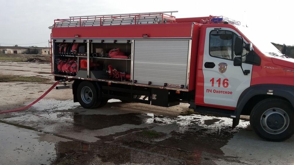 Сотрудники ГКУ РК «Пожарная охрана Республики Крым» проводят пожарно-тактические занятия на социально значимых объектах