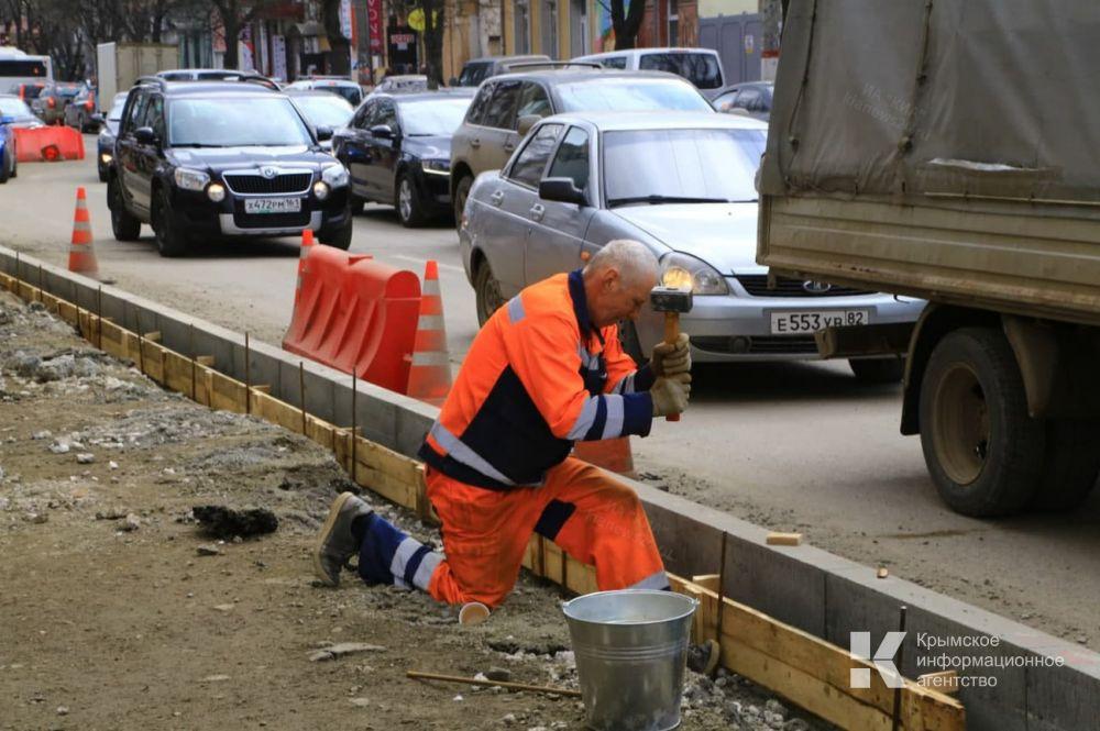 Дорогу в Симеизе отремонтируют к началу курортного сезона