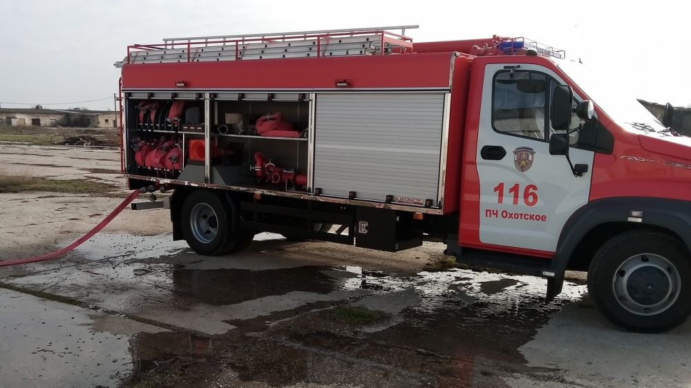 МЧС РК: Сотрудники ГКУ РК «Пожарная охрана Республики Крым» проводят пожарно-тактические занятия на социально значимых объектах