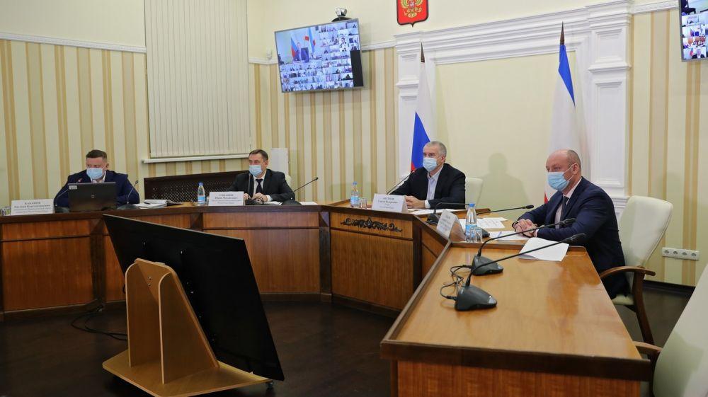 Сергей Аксёнов: Должностные лица наряду с подрядчиками будут нести персональную ответственность за приемку некачественных работ на объектах