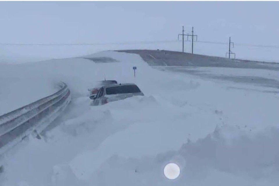 Почему на самом деле трассу «Таврида» и Крымский мост остановил сильный снегопад