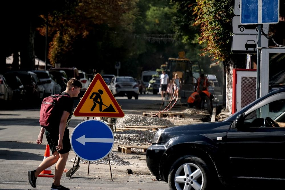 В Симферополе некачественно отремонтировали ряд дорог
