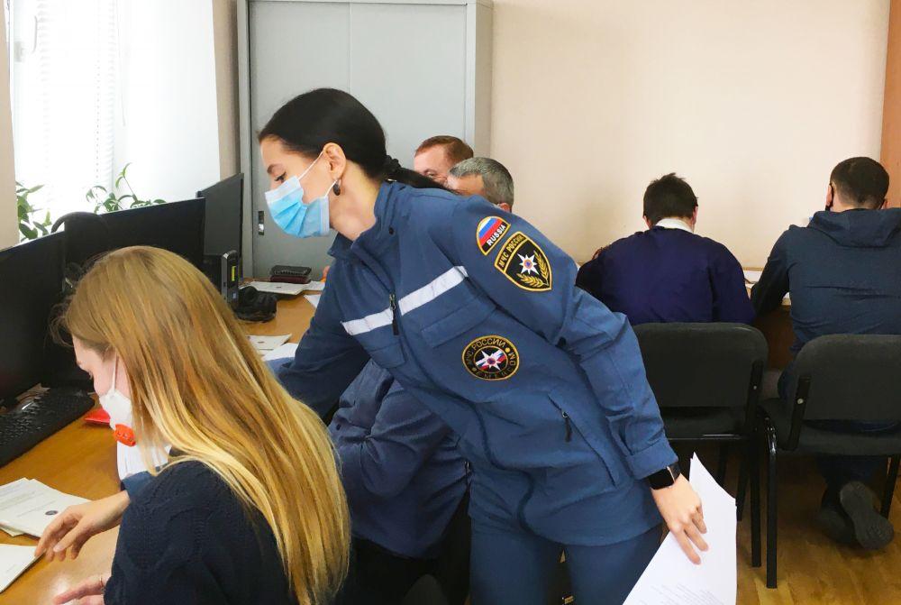В Крыму возобновилось проведение выездных мероприятий с личным составом МЧС России