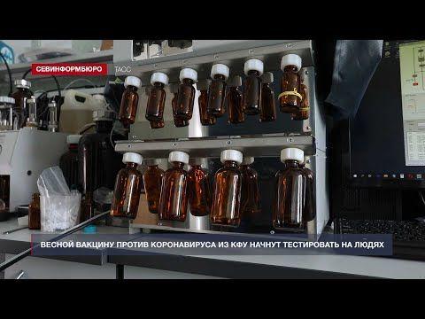 Весной вакцину против коронавируса из КФУ начнут тестировать на добровольцах