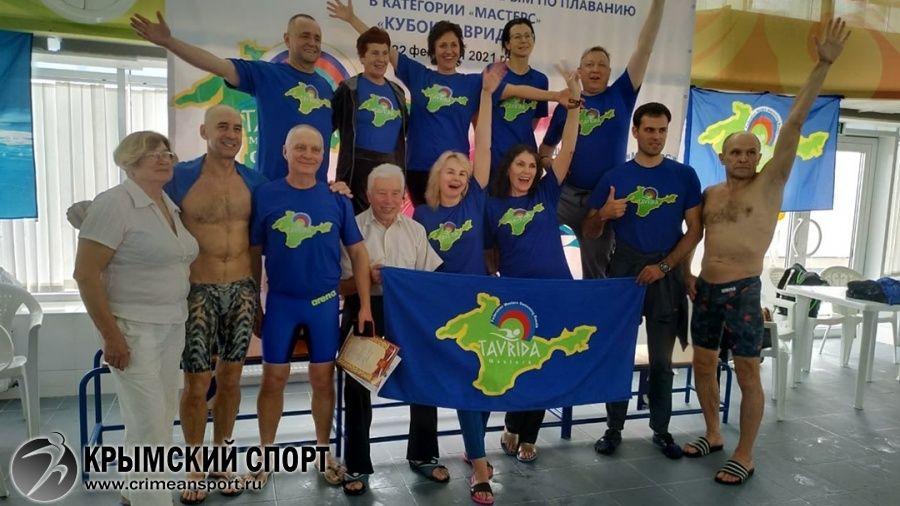 Ветеранский турнир по плаванию собрал в Евпатории почти 300 участников