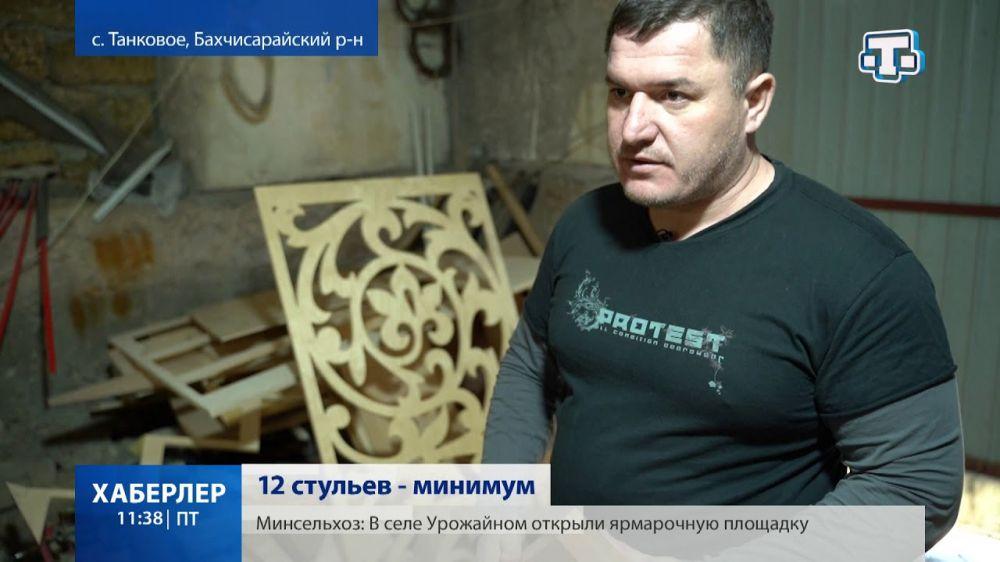 Сулейман Абдураимов: в его руках оживает дерево