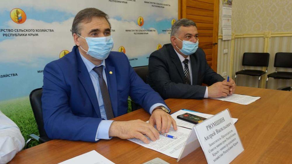 Андрей Рюмшин: Минсельхоз Крыма сформировал «дорожную карту» мероприятий по обеспечению пожарной безопасности для проведения сезонных полевых работ – 2021