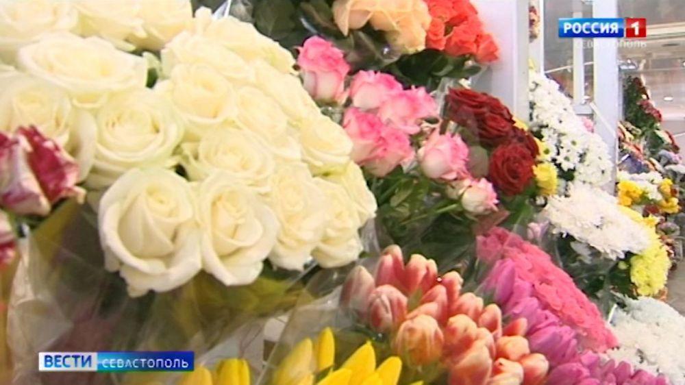 Какие цветы севастопольцы предпочитают дарить на 8 марта