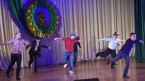 Состоялся праздничный концерт для представительниц прекрасной половины Джанкойского района
