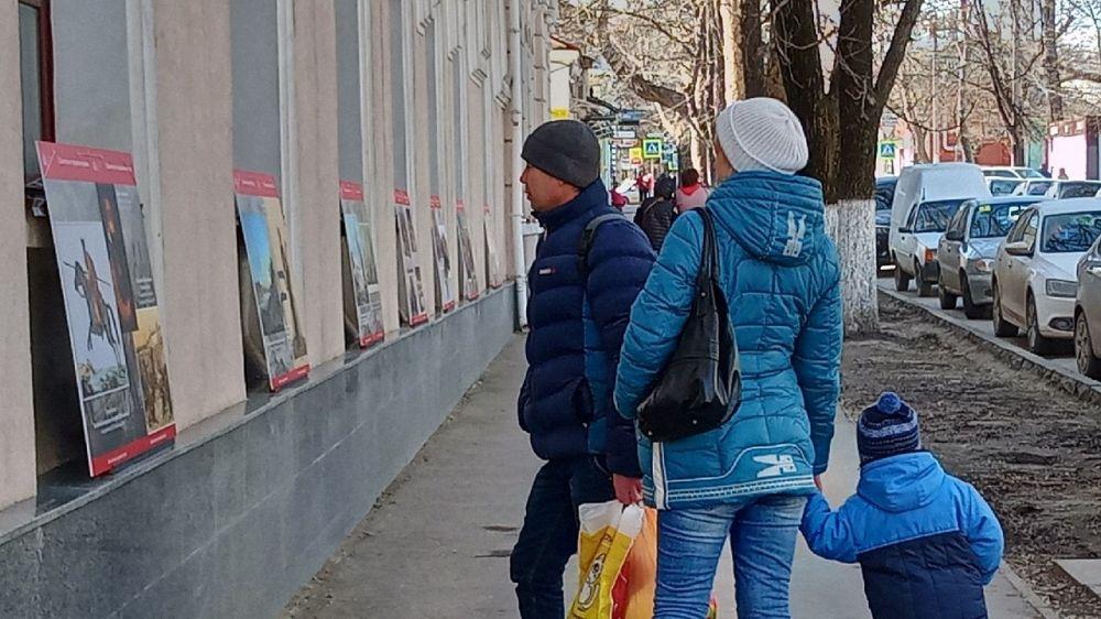 В Симферополе презентована планшетная экспозиция «Казачество на государевой службе», подготовленная Государственным историческим музеем