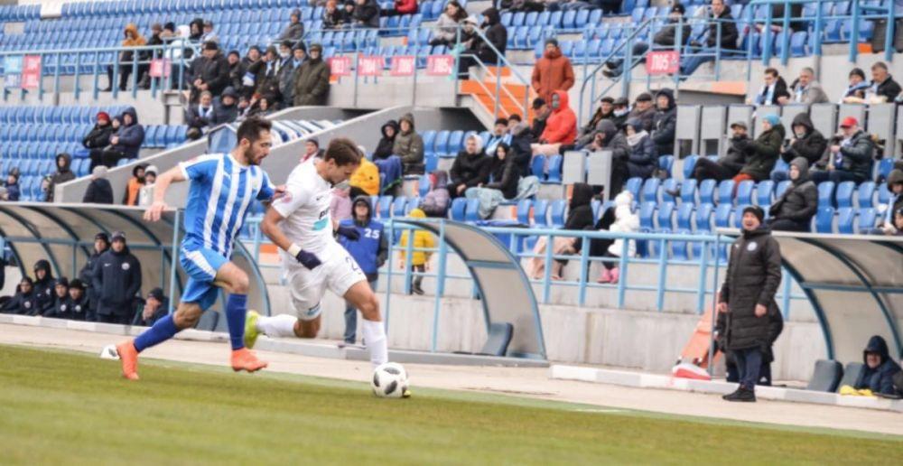 «Севастополь» обыграл «Океан» в матче чемпионата Крыма по футболу