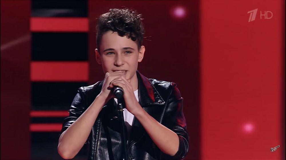 14-летний Евпаториец выступил на шоу «Голос Дети»