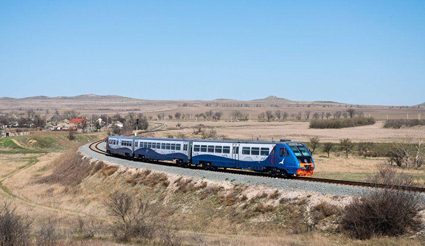 Год после запуска пригородных поездов по Крымскому мосту: достижения и новинки