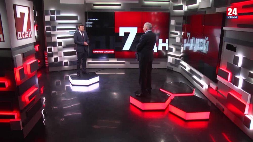 """Гость программы """"7 дней"""" – Михаил Малышев"""