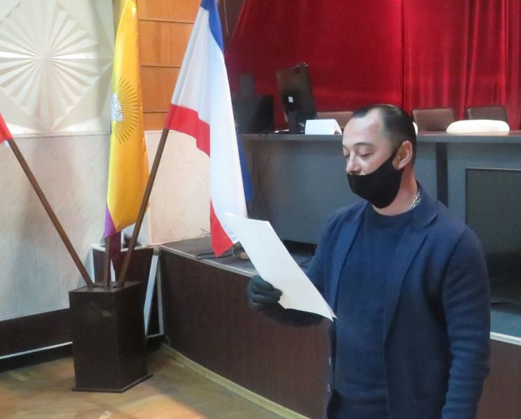 В Ялте провели церемонию принятия Присяги иностранцами, вступающими в гражданство Российской Федерации