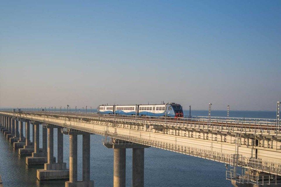 Пригородные поезда между Анапой и Крымом перевезли 65 тысяч пассажиров
