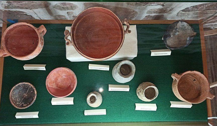 Мир уникальных предметов: в Судаке открылась античная выставка