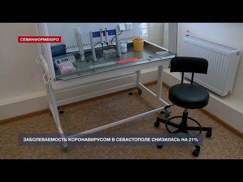 Заболеваемость коронавирусом в Севастополе снизилась на 21%