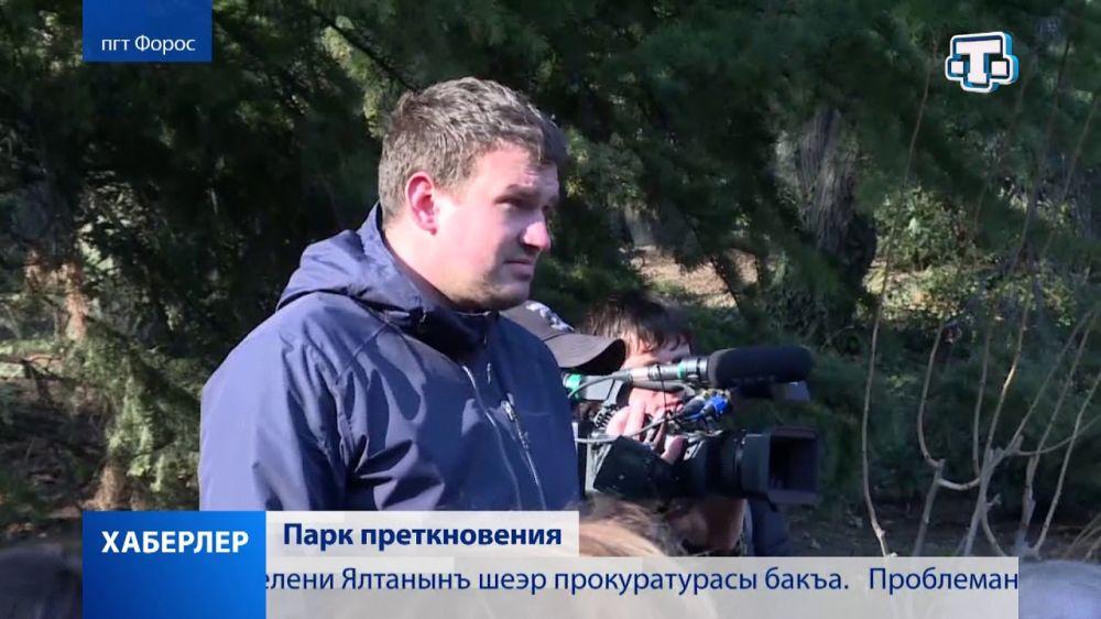 Сергей Аксёнов встретился с жителями Фороса