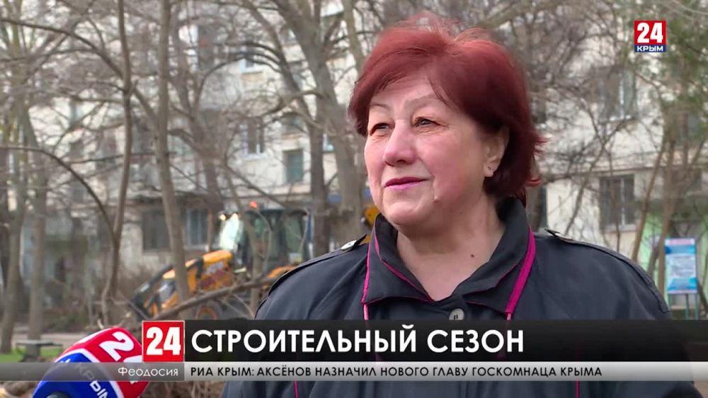 Новый асфальт и бордюры. По всему Крыму начался масштабный ремонт дворов?