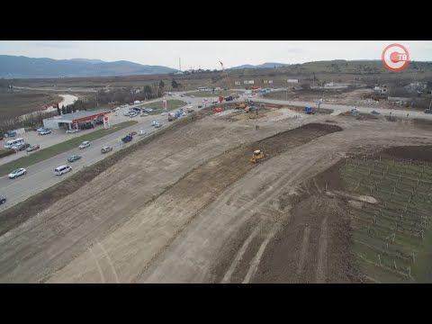 В Севастополе ведется строительство 8 этапа трассы Таврида (СЮЖЕТ)