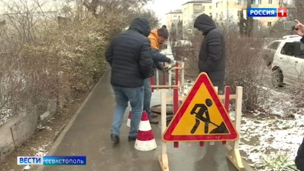 В Севастополе найти незаконные врезки в водовод помогают специальные датчики