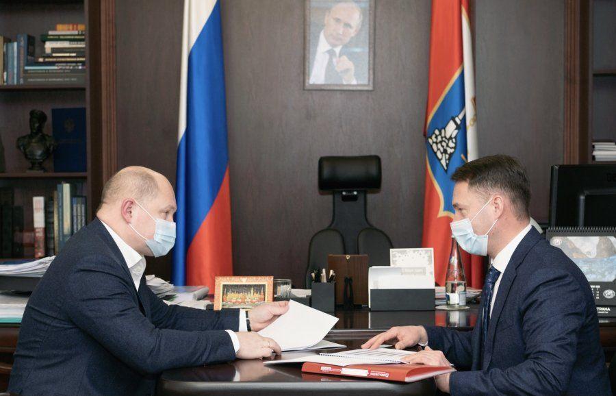 Губернатор и руководитель Управления ФНС Севастополя обсудили итоги работы в прошлом году
