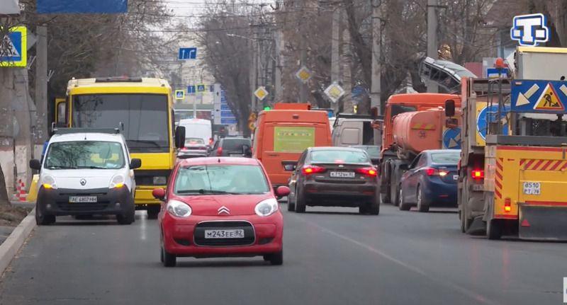 В Симферополе отремонтировали участок дороги на ул. Козлова