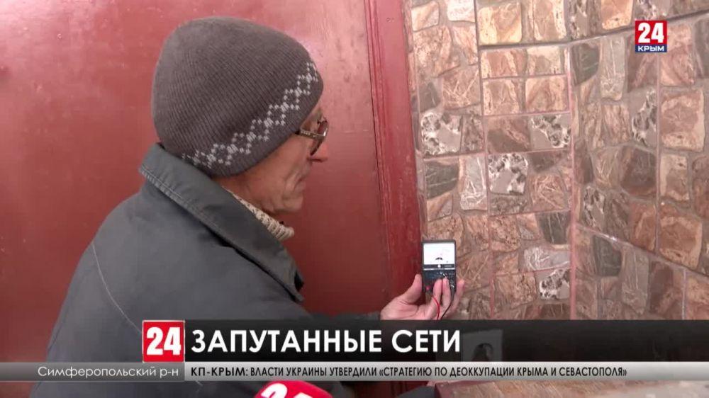 В дачном массиве Егоровка жители запутались не только в электросетях, но и в человеческих отношениях