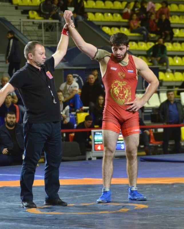 Крымский борец выиграл чемпионат России