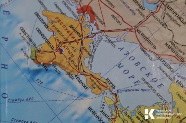 В Крыму создали карту мест боевой славы