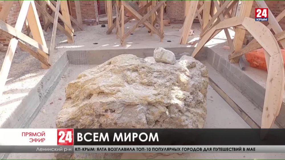 В селе Войково Ленинского района строят храм