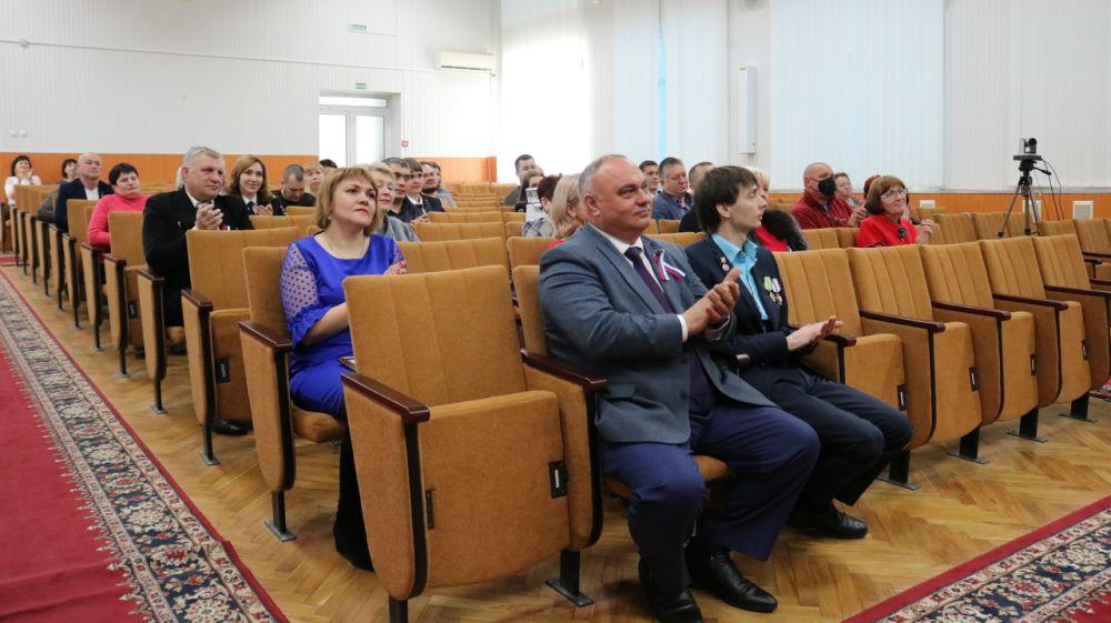 Красногвардейцы отмечают седьмую годовщину Общекрымского референдума
