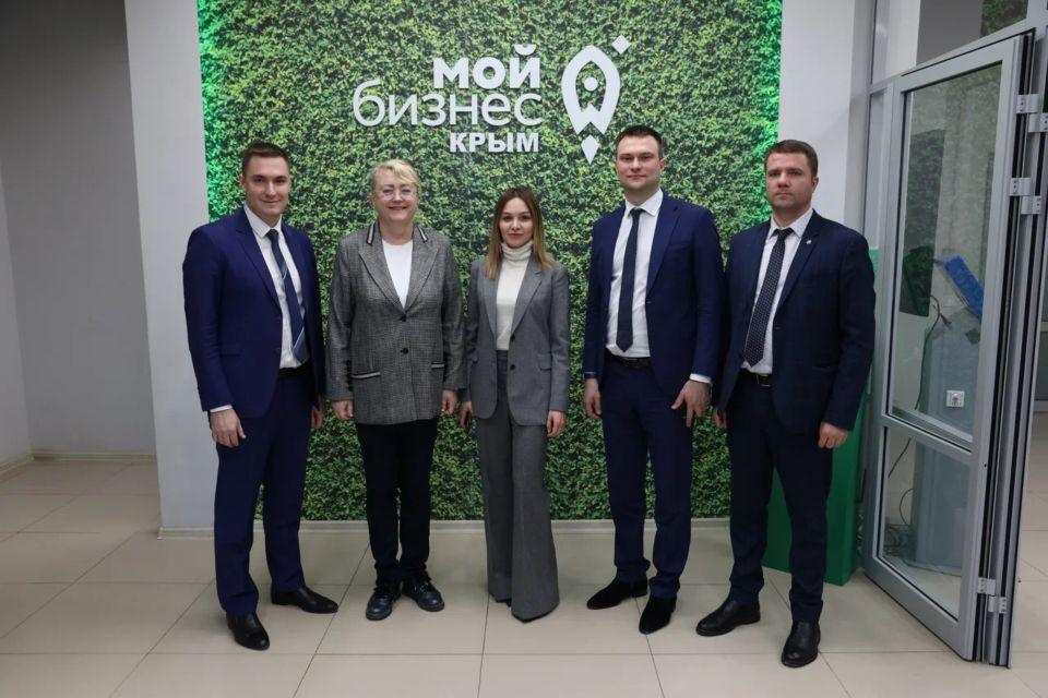 Представитель Министерства экономического развития РФ посетила Фонд поддержки предпринимательства Крыма