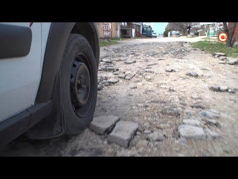 Дорогу на улице Карагандинской отремонтируют до начала лета (СЮЖЕТ)