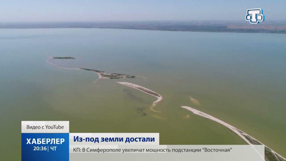 Бештерек — Зуйский водовод запустили в Крыму раньше срока