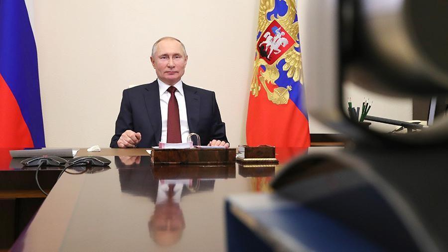 Встреча Владимира Путина с представителями общественности Крыма и Севастополя (видеозапись от 18 марта 2021 года)