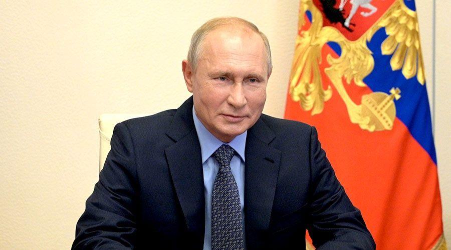 Путин поздравил жителей «святой крымской земли» с годовщиной возвращения Крыма в Россию