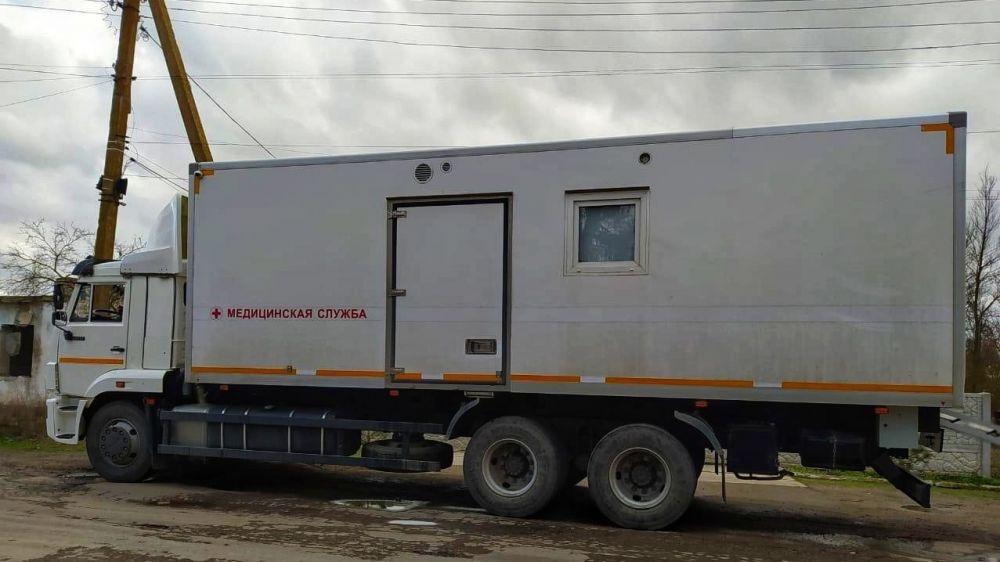 Минздрав РК: Ленинская центральная районная больница проводит профосмотры населения на передвижном медицинском комплексе