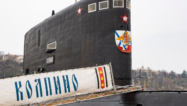 """Вооружена и очень опасна: подводная лодка """"Колпино"""""""