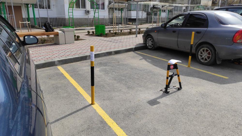 Вниманию владельцев технических средств принудительного ограничения движения транспортных средств по адресу: г. Феодосия, ул. Федько, 103
