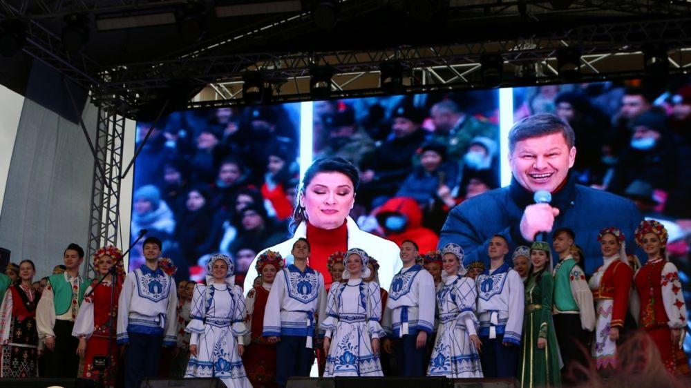 Минкульт Крыма представил концертную программу, посвященную 7-й годовщине Общекрымского референдума 2014 года и воссоединения Крыма с Россией