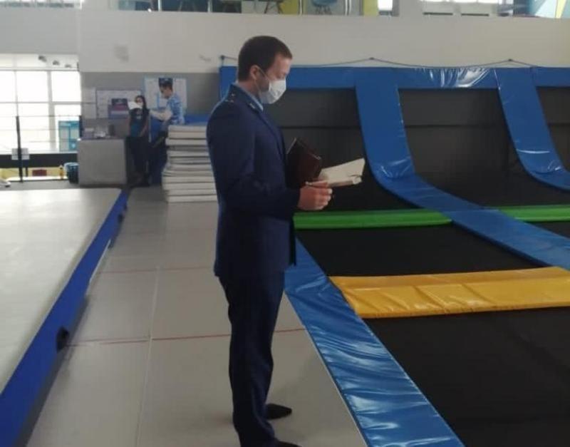 Еще один батутный центр закрыт в Севастополе из-за нарушений в работе
