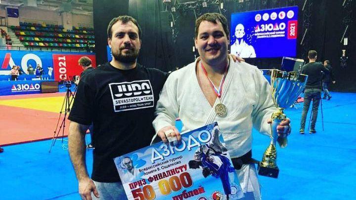 Севастополец завоевал серебро всероссийского турнира по дзюдо