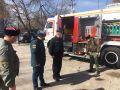 Крымские огнеборцы и казаки объединились в борьбе с пожарами