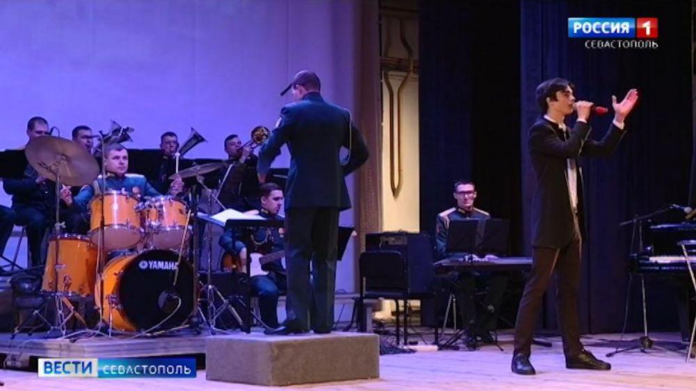 В Севастополе юные музыканты выступили с оркестром Росгвардии