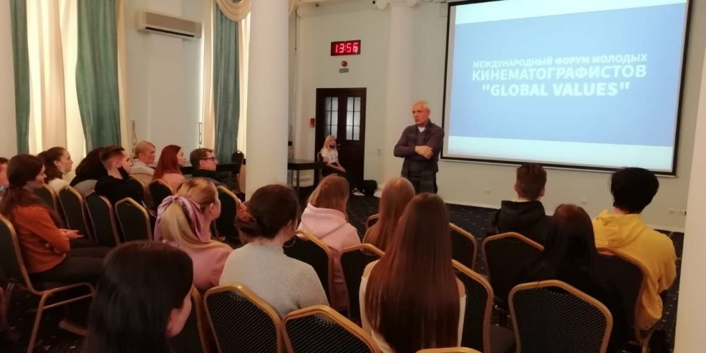 Гарик Сукачёв и Александр Галибин приняли участие в кинофоруме в Севастополе