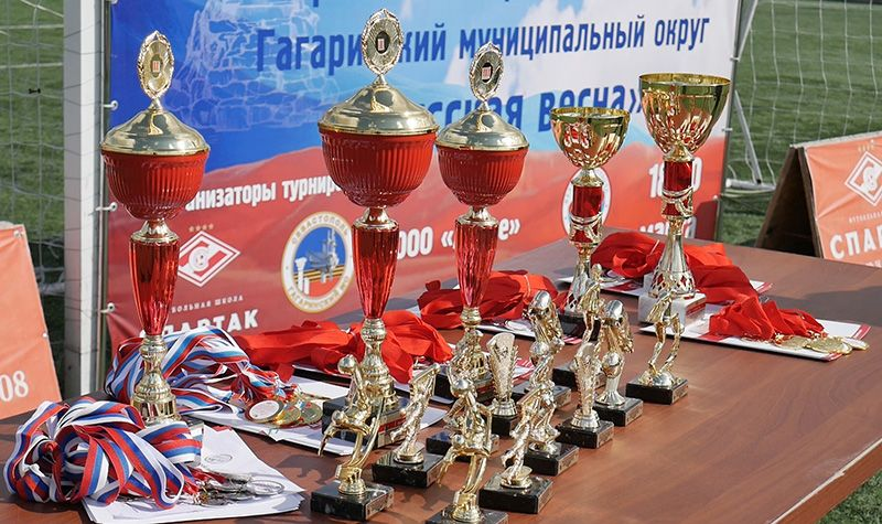 В Севастополе прошел детский турнир по футболу «Русская весна»