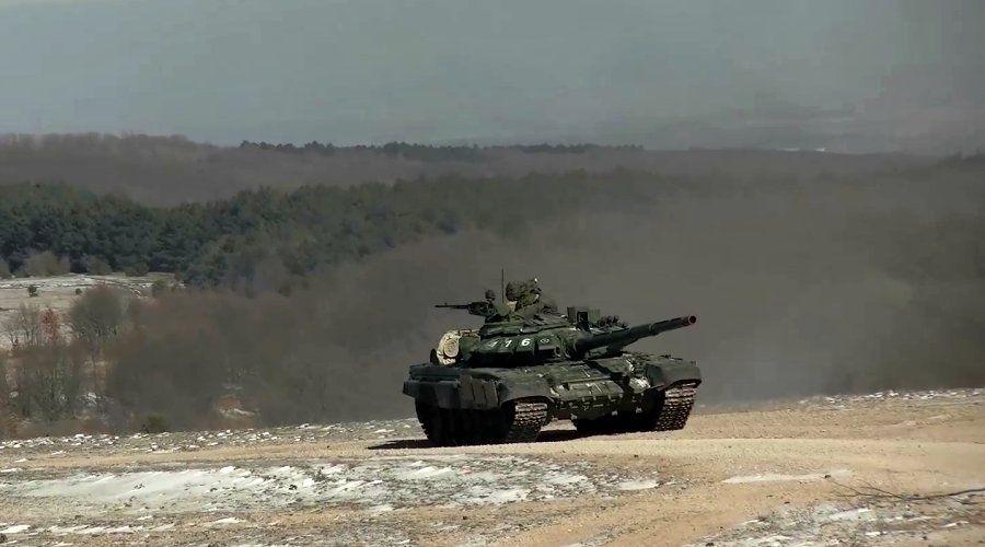 Военнослужащие ЧФ отработали бой ротных тактических групп